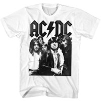 ACDC-ACDC-WHITE ADULT S/S TSHIRT