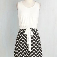 Mid-length Sleeveless A-line When Casual Calls Dress