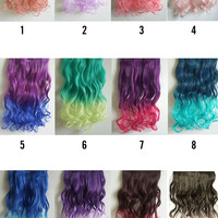 Fashion Gradual Color Hair Extension - OASAP.com