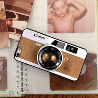 VIntage Camera, Custom Phone Case for iPhone 4/4s, 5/5s, 6/6s, 6/6s+ and iPod Touch 5