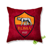 As Roma Fc Logo Square Pillow Cover
