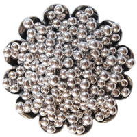Silver Dragees 4MM