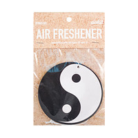 Yin Yang Black & White Car Air Freshener
