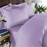 Elegant Comfort 3-Piece 1500 Thread Count Egyptian Quality Bed Sheet Sets with Deep Pockets, Twin/X-Large, Lilac