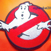 GHOSTBUSTERS Ghost Movie BUSTERS Halloween Iron on Patch