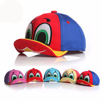 Boys or Girls Multi-Color Duck Hats