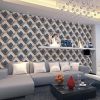 Luxury 3D Mosaic Wallpaper Modern stereo 3D Wallpaper Living Room Bedroom TV Background Wallpaper Fashion Wall Paper