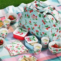 Cath Kidston - Limited Edition Wimbledon Picnic Pack for 4