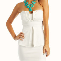 White dress by SOPHISTICATEDLY SIMPLE