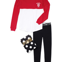 The Ohio State University Pocket Varsity Crew and Leggings Gift Set