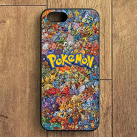 Pokemon All Monster Character iPhone 5S Case