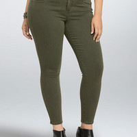 Torrid Jegging - Olive Wash (Regular)