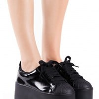 Jeffrey Campbell Shoes SYNERGY in Black Box