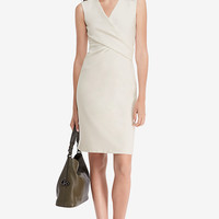 DVF Leora Fitted Dress