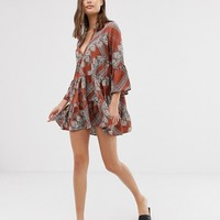 Only paisley print smock dress | ASOS