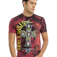 Guns N' Roses Appetite For Destruction Tie Dye T-Shirt