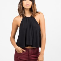 High Neck Swing Tank