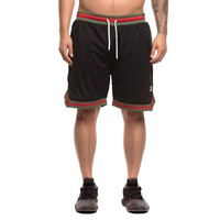 Saint Morta Mesh Basketball Short Black/Green/Red