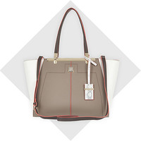 River Island Womens Grey textured winged tote bag