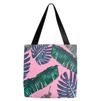 Pink and Palms Tote Bag