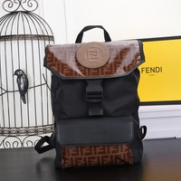 Fendi  Men Women Leather Tote Bag Shoulder Bag Messenger Bag Shopping Bag