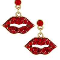 Kiss Me Earrings