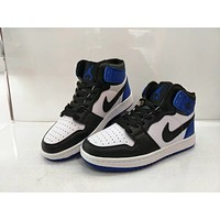 """""""Nike Air Jordan I"""" Unisex Casual Fashion Multicolor High Help Breathable Plate Shoes Basketball Shoes Couple Sneakers"""