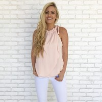 Real Love Blouse in Pale Pink