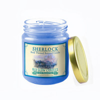 Sherlock Inspired Scented Soy Candle