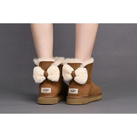 Fashion CHESTNUT UGG Classic Boots ARIELLE 1019625