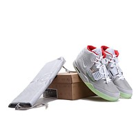 Nike Air Yeezy 2 NRG 508214 010 Wolf Grey/ Pure Sneaker Size US8-13