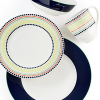 kate spade new york Dinnerware, Hopscotch Drive Navy Collection