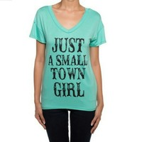 Small Town Girl Tee from Red Rhino Boutique