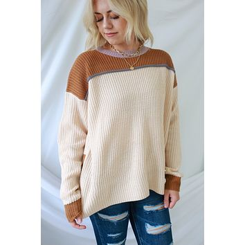 Loved By You Sweater - Pale Blush