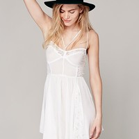Free People Stappy Front Fit and Flare Slip