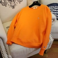 Casual Vintage Sportswear Swag Champion Crew neck Pullover Sweater Sweatshirt