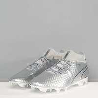 Puma One Soccer Boots Firm Ground In Chrome 10398601 at asos.com