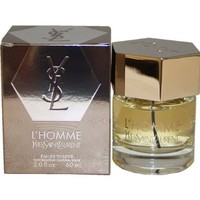 L'homme Yves Saint Laurent By Yves Saint Laurent For Men. Eau De Toilette Spray 2-Ounces:Amazon:Beauty