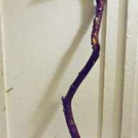 Emmaus Cane Hand Crafted Whittled Carved Vine Gift for Him Collectible