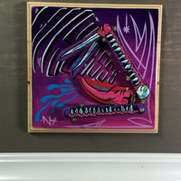 Monster Snake Painting