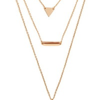 Charm Layered Necklace