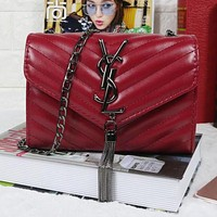 Perfect YSL Yves Saint Laurent Women Shopping Leather Crossbody Shoulder Bag Satchel