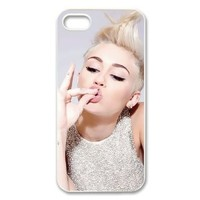 Miley Cyrus Case for Iphone 5/5s Petercustomshop-IPhone 5-PC02173