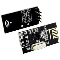 2pcs Addicore nRF24L01+ 2.4GHz Wireless Transceiver in Antistatic Foam Arduino Compatible