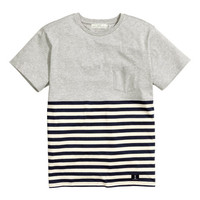 Color-block T-shirt - from H&M