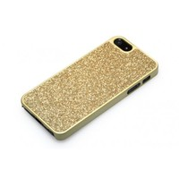 Luxury Sparkle Case for iPhone 5 with GGMM Glitter Cover - Gold +free shipping