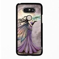 FAIRY DRAGONFLIES MOON LG G5 Case Cover