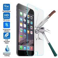 9H 2.5D Anti-Explosion Tempered Glass for iphone 6 7 plus arc Film Screen Protector for iphone6 Oleophobic Coating