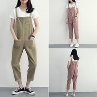 2016 Summer Elegant  Rompers Women Jumpsuit Sleeveless Plus Size One Piece Pants Trousers Overalls