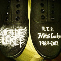 Suicide Silence - Mitch Lucker Memorial Custom Canvas Shoes